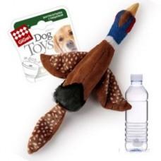 GiGwi 75225 Птица с пласт. бутылкой с пищалкой в крышке/ткань