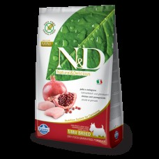FARMINA N&D 2,5 кг д/собак мелких пород Аdult курица/гранат 1151 1/4-