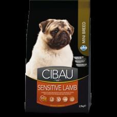 FARMINA Чибау 800,0 д/собак мелких пород Sensitive ягненок 0894 1/10 (00373227   )