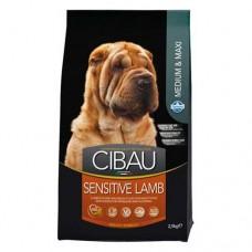 FARMINA Чибау 12 кг д/собак крупных и средних пород Аdult Sensitive ягненок 1044 1/1 (00373228   )
