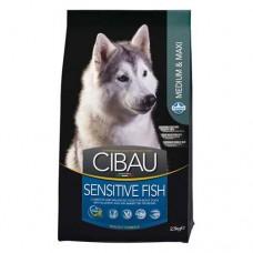 FARMINA Чибау 2,5 кг д/собак крупных и средних пород Sensitive рыба 0955 1/4