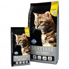 FARMINA Матисс 1,5кг д/кошек Аdult курица д/стерилиз./кастрир. 2102 1/8 (00373610   )