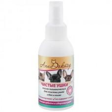 Лосьон гигиенический Чистые ушки для очистки ушей собак и кошек / 100мл. Арт.1066 1/24 (00374092   )