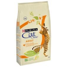 CAT CHOW 15 кг д/к взрослых Птица  (00374250   )