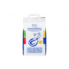 WC Cat/Kitten 20л/10кг комкующийся наполнитель 1/60 (00374370   )