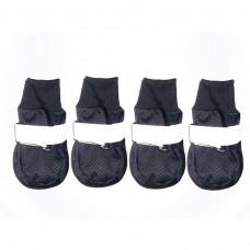 Ботинки 1 4My Pets для собак Сеточка черные FMP00074