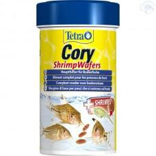 TETRA Cory Shrimp Wafers 100мл корм-пластинки с добавл. креветок для сомиков-коридорасов 257399