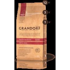 GRANDORF DOG 12кг ALL BREEDS утка с картофелем для собак всех пород  1128 1/4