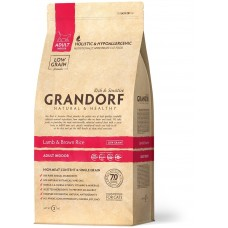 GRANDORF CAT 2 кг INDOOR Ягненок с рисом для кошек  2025  1/12 (00375011   )