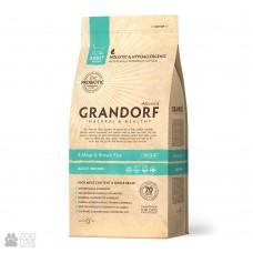 GRANDORF CAT 2 кг PROBIOTIC INDOOR 4 мяса с рисом и пробиотиками для кошек  9026 1/12