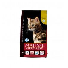 FARMINA Матисс 400 гр сух д/кошек курица/рис 6096 1/24 (00375187   )