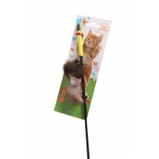 Дразнилка Котик из нат.меха 60см GLG (00375201   )