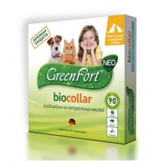 Green Fort neo БиоОшейник д/собак средних пород 1/30--