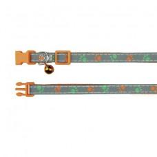 Ошейник для кошки, со светоотражающими элементами, нейлон 41871 ТРИКСИ