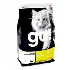 GO! NATURA д/кошек и котят 3,63кг Беззерновой с Чувств.пищеварением: со свежей уткой 0150