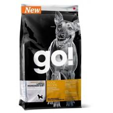 GO! NATURA д/собак и щенков 2,72кг Беззерновой со свежей уткой для чувст. пищеварения 0143