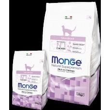 MONGE 10кг Cat Sterilized д/стерилизованных кошек на курице 6267 1/6