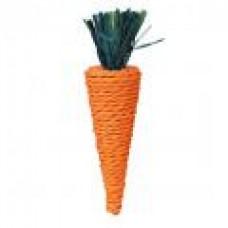 Морковь игрушка для грызунов из бумажного шпагата 20см ТРИКСИ (00377542   )