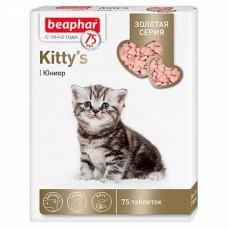 Беафар Киттис Золотая линейка витамины д/котят Kitty`s Junior 75 т.01,05,2020