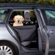 Автогамак для собаки, с боковыми стенками, 65х145 см, черный/бежевый ТРИКСИ