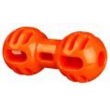Гантеля игрушка Soft & Strong, TPR, 11 см, оранжевый