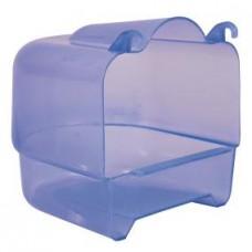 Купалка 15х16х17см., голубой/прозрачный пластик.