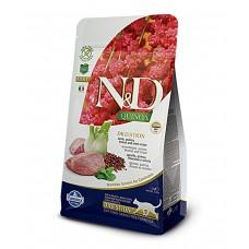 FARMINA N&D Cat Quinoa 300гр Digestion Lamb д/взр.кошек с ягненком ЖКТ 5745 1/10