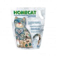HOMECAT 3,6 л наполнитель силикагелевый Морозная свежесть (1,8кг) 1/8 (00378989   )
