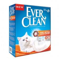 Ever Clean Fast Acting 10кг комкующийся наполнитель быстрого действия для кошек 1/1