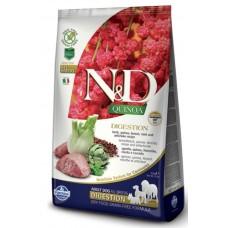 FARMINA N&D Dog Quinoa 800гр Digestion Lamb для взр.собак с ягненком, ЖКТ 5516 1/10 (00379052   )