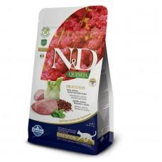 FARMINA N&D Cat Quinoa 1,5кг Digestion Lamb для взр.кошек с ягненком, ЖКТ 5790 1/8 (00379059   )