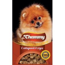 Chammy 85,0 пауч д/собак с говядиной в соусе 1/24