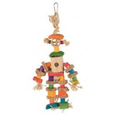 Подвеска д/птиц игрушка 25см Bamboo man