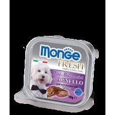 MONGE 100гр Dog Fresh консервы для собак ягненок 1/16