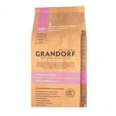 GRANDORF DOG 1кг PUPPY Lamb&Rice  (ягнёнок с рисом для щенков) 7016 1/10 (00379436   )