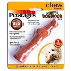 Палочка с ароматом барбекю 16см маленькая  Petstages игрушка д/собак 30143