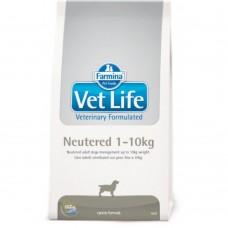 FARMINA Vet Life Dog 2кг Neutered д/с мелк.пород стерил.и кастрир 2455 1/4 (00380014   )