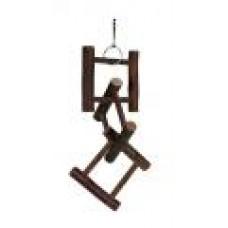 Лестница д/птиц деревянная 12 ступенек 50см