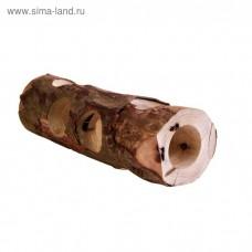 Тоннель для грызунов, береза, 20 см. Трикси  (00380091   )