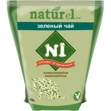 №1 Naturel 4,5л Зеленый чай комкующийся 1/10 (00380199   )