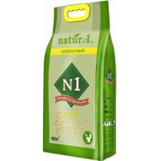№1 Naturel 17,5л Кукурузный комкующийся 1/3 (00380204   )