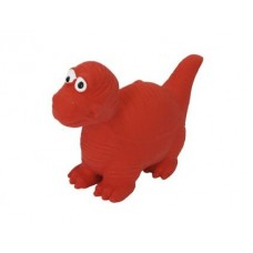 Динозаврик с пищалкой игрушка д/собак латекс 8-10см 1*288 шт№1
