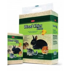 Опилки Padovan  WOOD CHIPS д/грызунов 1кг/14л с запахом лимона 1/8