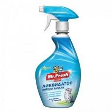 MF Expert 3в1 Уничтожитель пятен и запаха д/кошек 500мл F403 1/22 (00381022   )