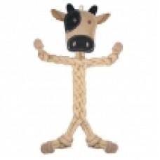 Бурёнка ЭКО игрушка д/собак натур. кожа 400*250*40мм Triol