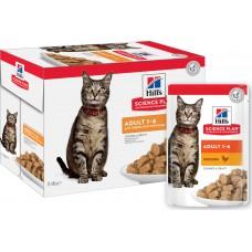 HILLS 85,0 д/кошек пауч курица 604003/2104 12*1 85г (00381420   )