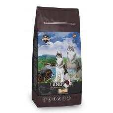 LANDOR 15кг д/собак всех пород рыба с рисом  9981 1/1 (00381953   )