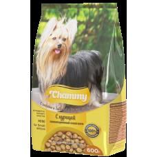 Chammy 600гр сух. д/взрослых собак мелких пород c курицей
