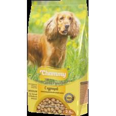 Chammy 2,5кг сух. д/взрослых собак мелких и средних пород c курицей