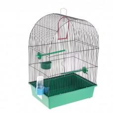 Клетка д/птиц 38,5*27,5*51,5см ВАКА Фантазия-1 жердочка, поилка 52886